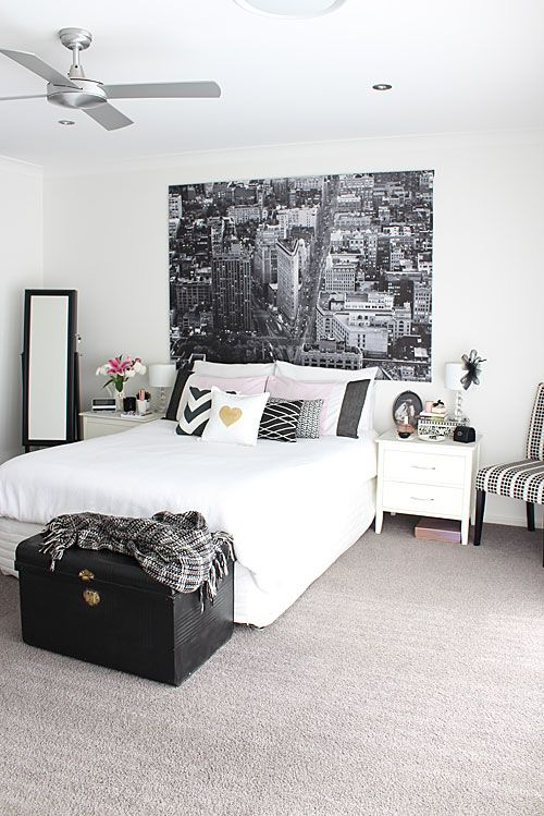 Monochrome Trend Black White Decorating Tips How To