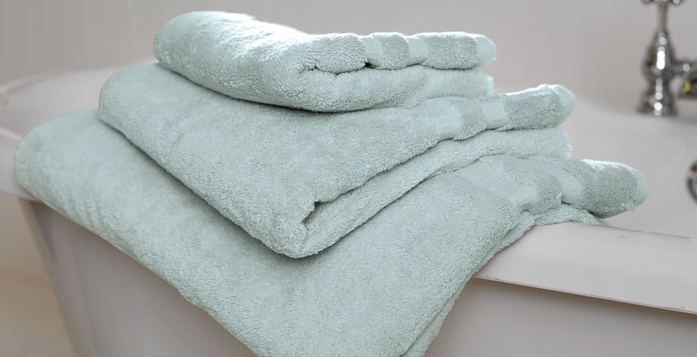 Duck Egg Egyptian Cotton Towels