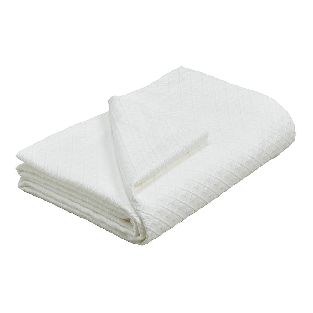 Deco Matelasse Bedspread Feather Amp Black