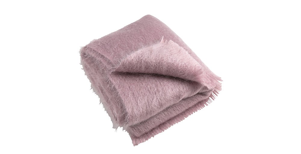 Luxury Mohair Throw