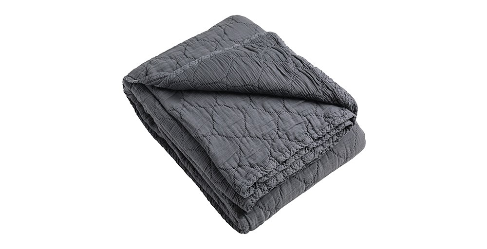 Quilted Cotton Throw