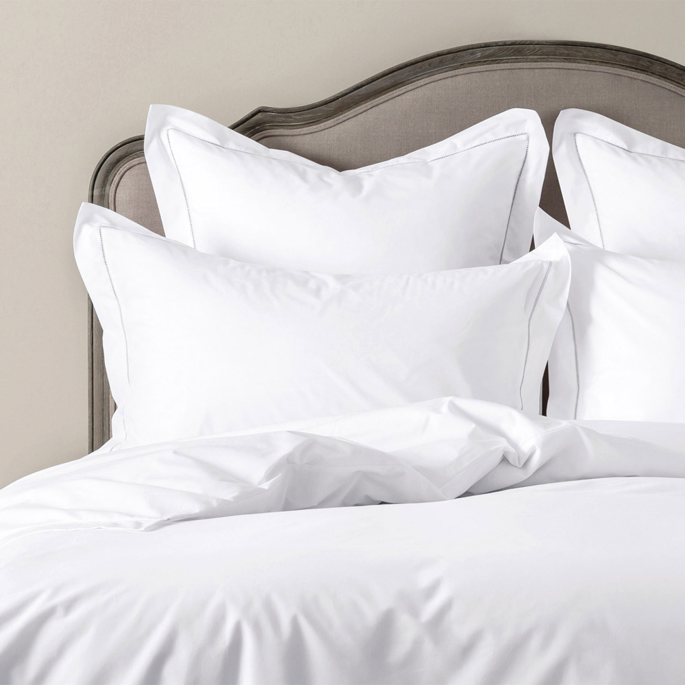 Luxury White Bed Linen Part - 40: ... Calabria Ladderlace Bed Linen Set