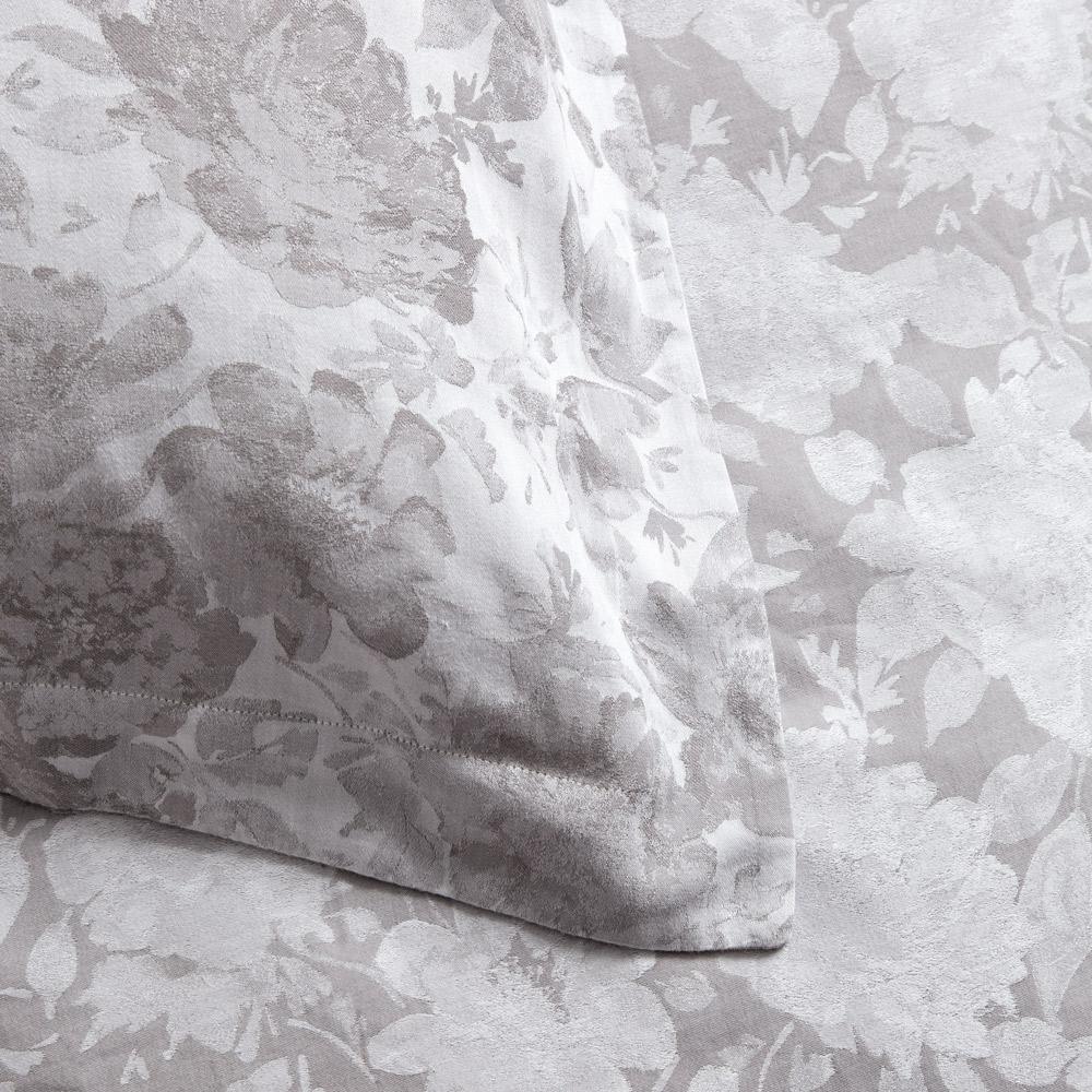 Lara Floral Bed Linen Set - Charcoal Spare Pillow Case