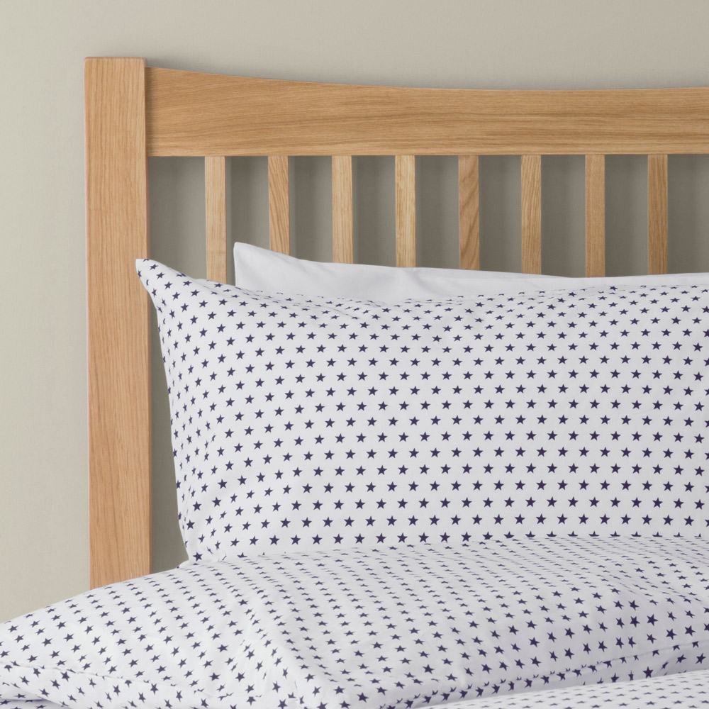 Stars Bed Linen Feather amp Black