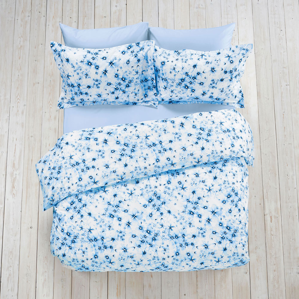 Watercolour Floral Bed Linen  Duvet Cover Super King