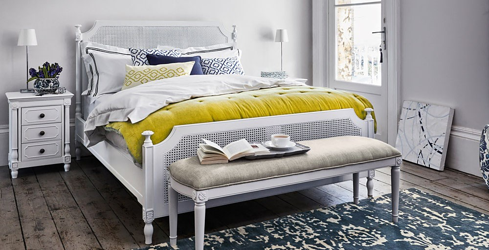 Lille White Bedstead