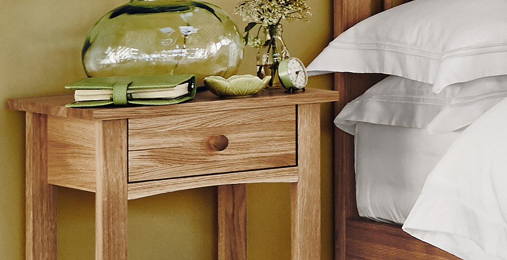 Marblehead 1 Drawer Bedside Table