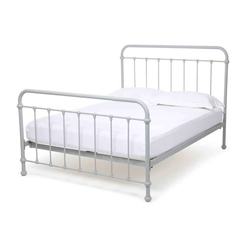 Iron bed frame brooklyn iron bed dorel home products king bedroom set hand forged wrought iron - Reasons choose wrought iron bed ...