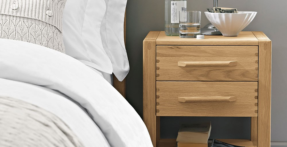 Pimlico 2 Drawer Bedside