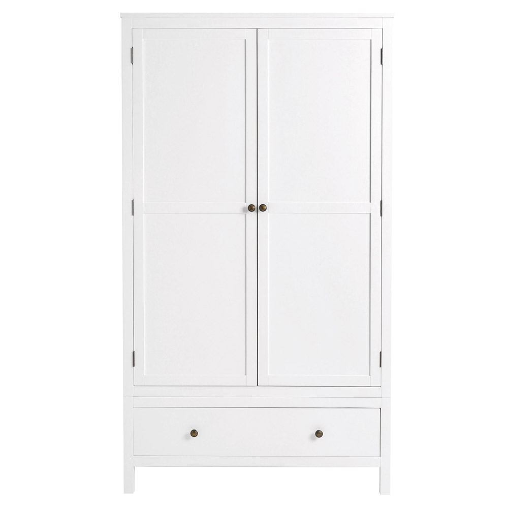 Radley White 2 Door Wardrobe