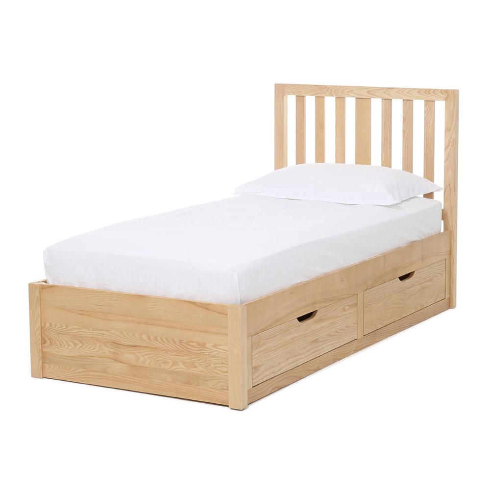 radley children 39 s storage bed feather black. Black Bedroom Furniture Sets. Home Design Ideas