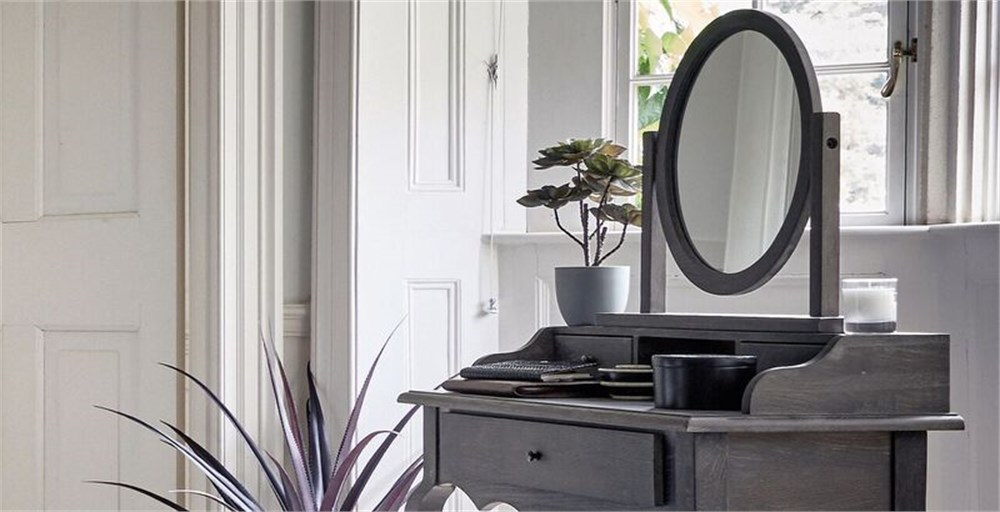 Sienna Grey Mirror