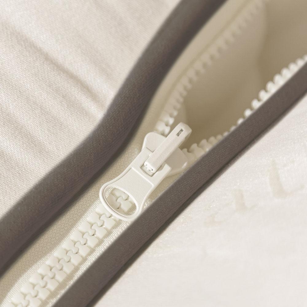 Middleham Mohair Zip Amp Link Mattress Feather Amp Black